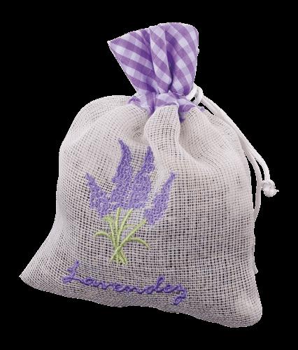 Lavendelpase i linned